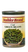 canned beans green
