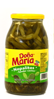 canned nopales